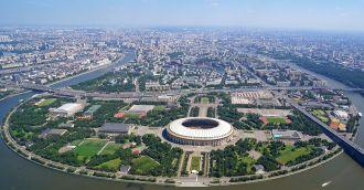Chiêm ngưỡng SVĐ Luzhniki tại Nga