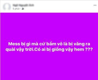 Khắc phục khi ứng dụng Messenger của bạn bị crash