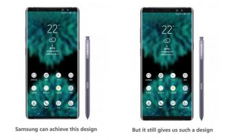 Sau khi dùng thử smartphone Trung Quốc, phó chủ tịch Samsung yêu cầu đổi thiết kế Note 9