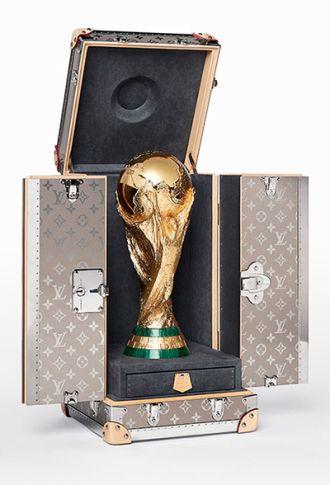 Chiếc Va li đựng cúp World Cup có giá trị rất cao