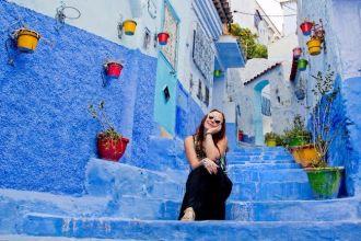 Mê cung xanh đẹp mê hồn tại Morocco