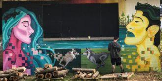 Nghệ thuật vẽ tranh trên tường đã hồi sinh một thành phố