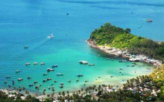 Vẻ đẹp của đảo Nam Du sẽ khiến ban siêu lòng