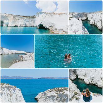 Đảo Milos được mệnh danh là hòn đảo xanh của Hy Lạp