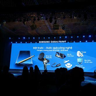 Mẫu Galaxy Note9 ra mắt với giá chính thức bất ngờ