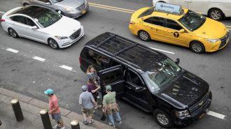 New York đang hạn chế 'xe taxi công nghệ' kiểu Uber