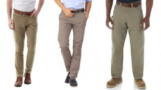 Những quy luật phối đồ với quần kaki nam công sở