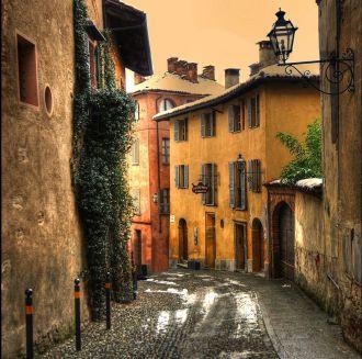 Thị trấn Saluzzo nơi của những con đường lát sỏi