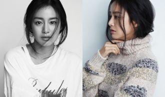 Cách mặc quần jean, áo thun, Kim Tae Hee vẫn tỏa sáng