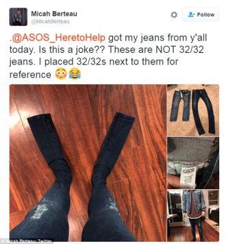 Cái kết của khách hàng mua quần jeans quái dị của ASOS