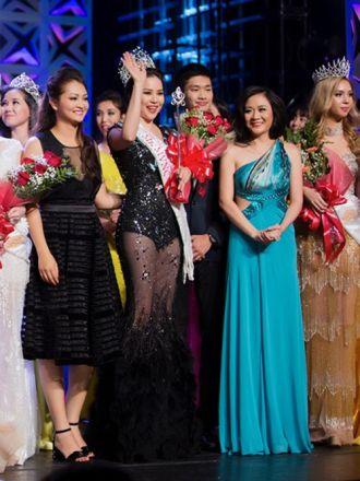 Jasmine Le nhận cú đúp tại cuộc thi Hoa hậu Người Việt Thế giới