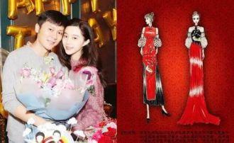 Lộ ảnh váy cưới cuối cùng của Phạm Băng Băng