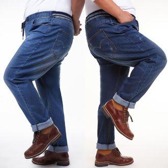 Mẹo chọn quần jean cho chàng béo