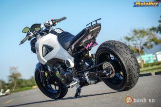 Honda MSX bản độ khủng về hiệu năng lẫn công suất của biker xứ Đài