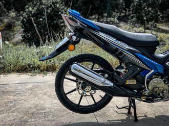 Exciter 135 độ lột xác với kiểu dáng Malay mê hoặc