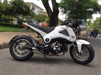 Hết hồn với chiếc Honda MSX độ full style lùn