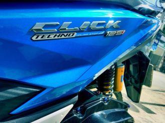 Honda Click 125 độ bánh căm tay ga phong trào đang vô cùng hot