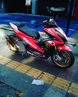 NVX 155 bản nâng cấp ấn tượng với hệ thống phuộc mô phỏng Ducati
