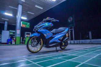 NVX 155 độ phong cách Drag chất ' ngất ngây ' của biker Thailand