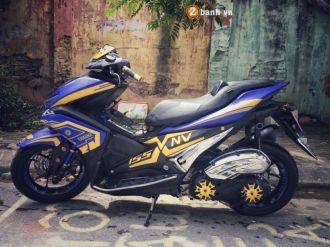 NVX 155cc cơn lốc xanh biển đến từ phố cổ Hà Nội