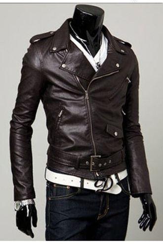 Hướng dẫn cách phối đồ cùng áo khoác da nam cực chất
