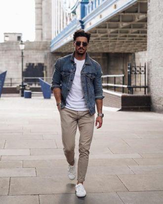 5 cách diện đồ cùng áo denim giúp chàng định hình style bụi bặm chất cực chất