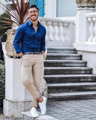 7 tips phối áo sơ mi với quần trouser giúp chàng đến công sở tự tin
