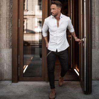 9 cách phối đồ nam đơn giản mà chất chơi cùng quần jeans đen