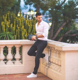 9 tips phối giày sneaker trắng cực trẻ trung và năng động mà chàng nên biết