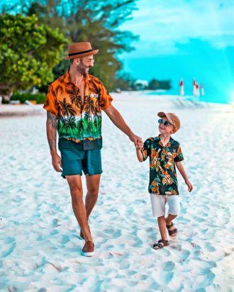 Cảm hứng phối đồ giúp cặp bố con sành điệu như fashionista đích thực