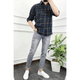 6 Cách phối đồ với quần jean nam cực chất cho mọi dáng người