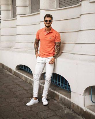 4 gợi ý phối đồ cùng quần chinos trắng giúp chàng định hình vẻ ngoài thật trẻ trung